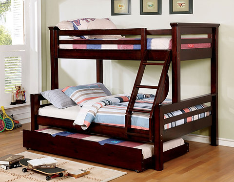 MARCIE TWIN OVER FULL WOOD BUNK BED
