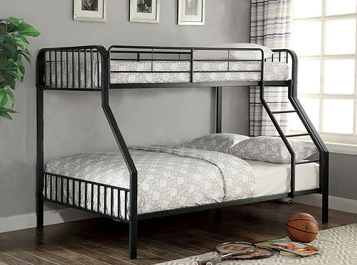 CLEMENT TWIN OVER FULL METAL BUNK BED