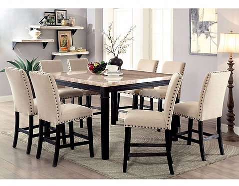 DODSON II 9PCS. COUNTER HEIGHT DINING SET