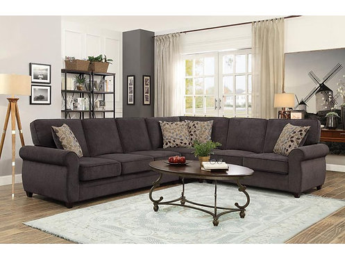 3 PCS KENDRICK SECTIONAL WITH PULL-OUT BED