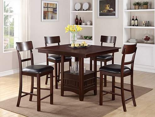 NIGUEL II 5PCS. COUNTER HEIGHT DINING SET