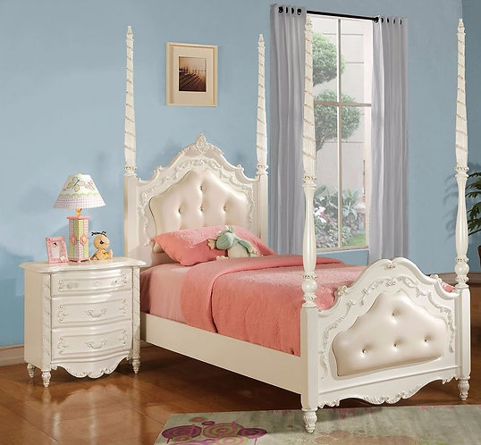 PEARL II 4PCS TWIN BEDROOM SET