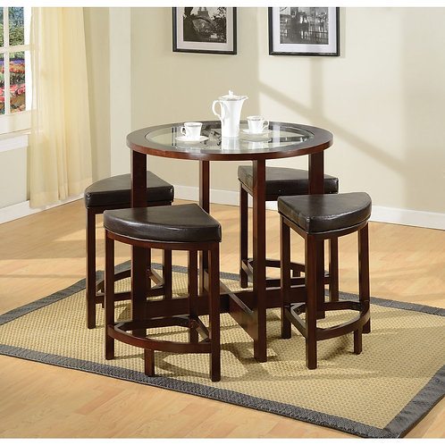 PATIA  5PCS COUNTER HEIGHT DINING SET