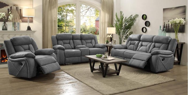 HOUSTON MOTION SOFA AND LOVESEAT