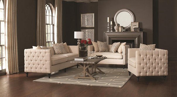 CLAXTON COLLECTION SOFA & LOVESEAT