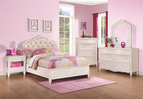 ARIEL COLLECTION  4PCS BEDROOM SET