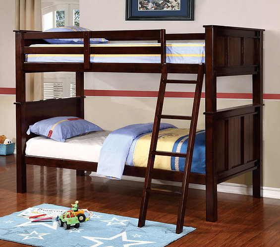 GRACIE TWIN OVER TWIN WOOD BUNK BED