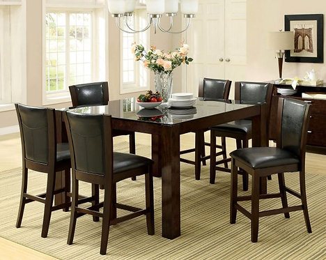ASTORIA II 7PCS. COUNTER HEIGHT DINING SET