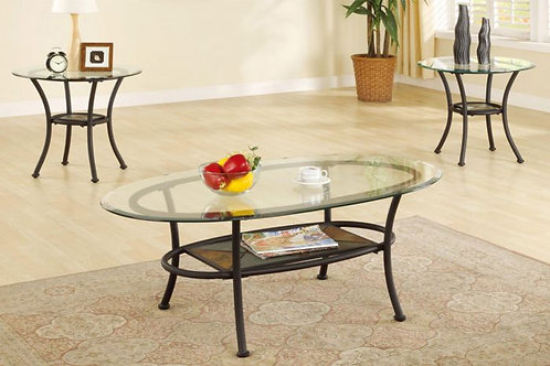 TELMA 3PCS. COFFEE TABLE SET