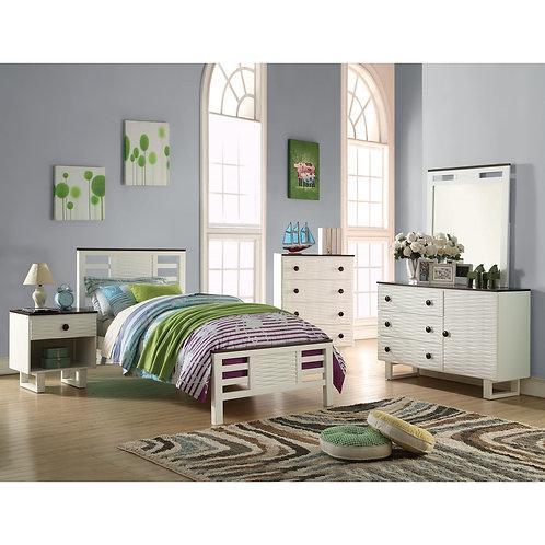 FLORRIE 4PCS TWIN BEDROOM SET
