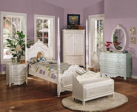 PEARL  4PCS TWIN BEDROOM SET