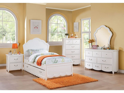 CECILIES COLLECTION 4PCS BEDROOM SET