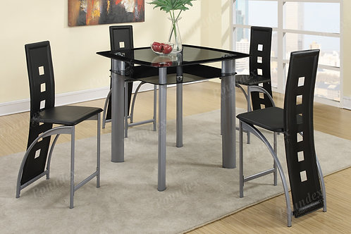 MAXIM 5PCS. COUNTER HEIGH DINING SET