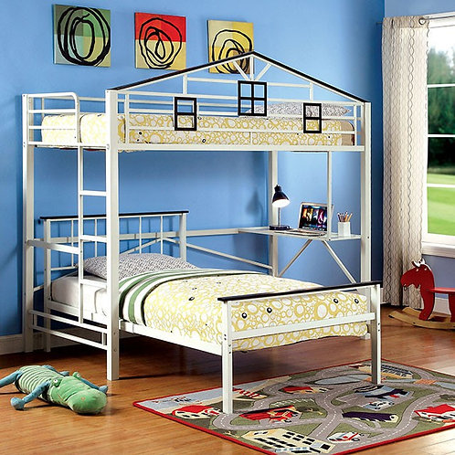 FORTRESS TWIN LOFT BUNK BED