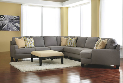 5PCS. CHAMBERLY SECTIONAL WITH CUDDLER