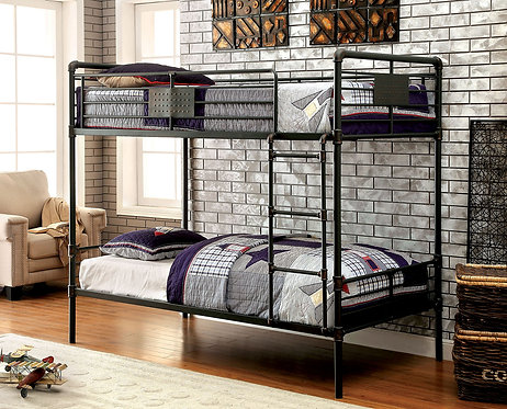 OLGA I TWIN OVER  TWIN METAL BUNK BED