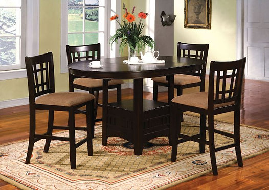 METROPOLIS II 5PCS. COUNTER HEIGHT DINING SET