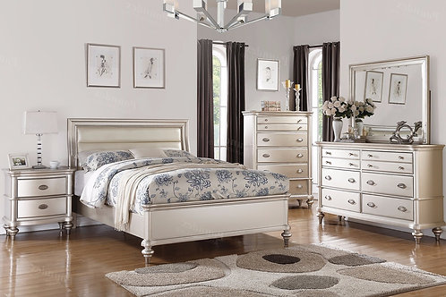 ALEXA II SILVER BEDROOM SET