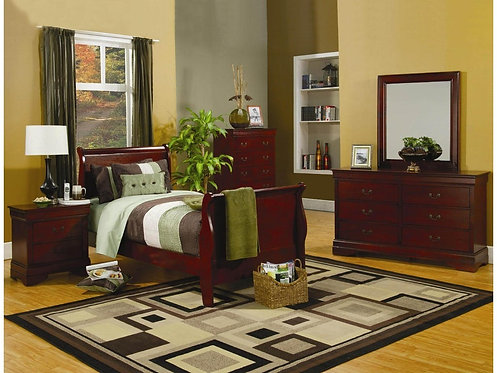 LOUIS PHILIPPE IV 4PCS BEDROOM SET