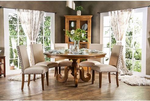 OLINDA ROUND DINING ROOM SET