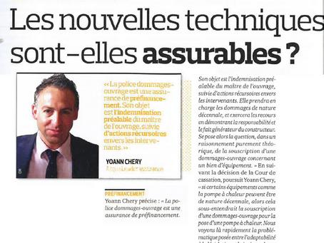 Article Yoann Chery - La Tribune