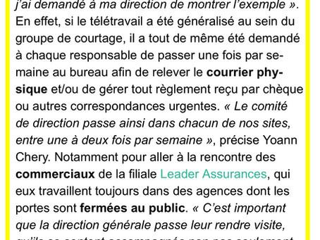 La gestion de crise de Yoann Chery face au Covid 19