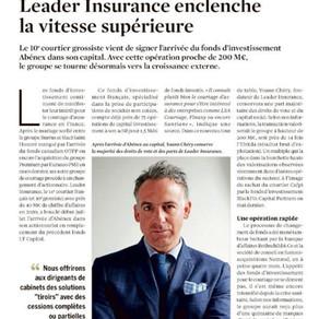 Leader Insurance enclenche la vitesse supérieure  !