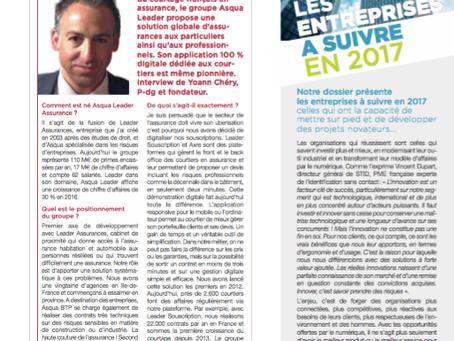 Interview de Yoann Chery dans Management !