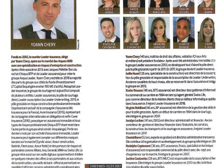 Article La Tribune - Groupe Leader