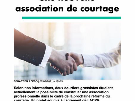 Deux courtiers grossistes veulent créer une nouvelle association de courtage !