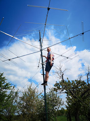 Final refinements on the antenna system