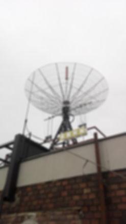 Passive radar station