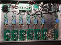 Fully assembled and wired radar