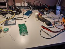 RF front module preparation in progress.