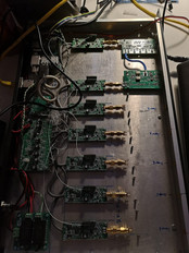 RTL-SDR receivers are in place.
