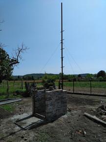 Radar building is almost ready