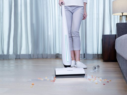 Hizero debuts at VDTA, showcasing radical new all-in-one cordless hard floor cleaner
