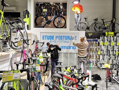Le Bike Fitting Shimano à Perpignan chez Véloland bien-sûr!
