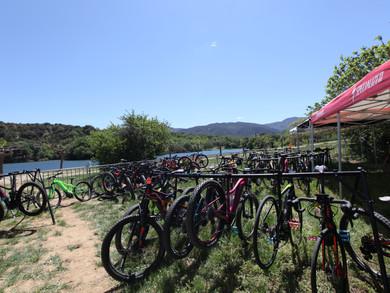 Une journée exceptionnelle: essais vélos à assistance électrique à Vinça !