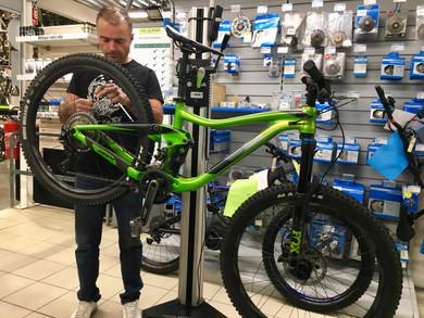 Atelier-vélos 5 ⭐️ !