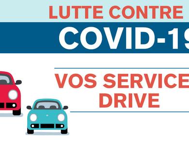 Découvrez notre Service Drive!