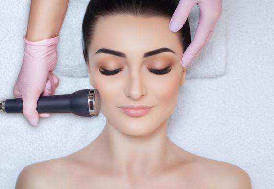 The Ultrasonic Facial Treatment