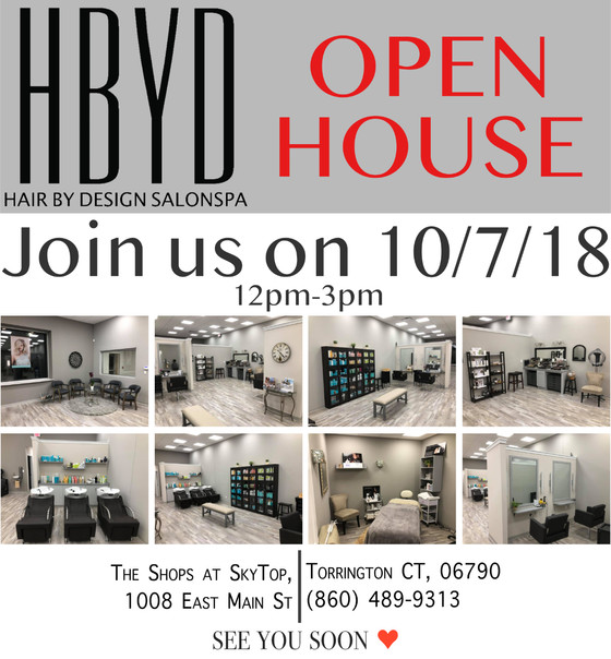 HBYD Open House - 10/7/18, 12pm-3pm