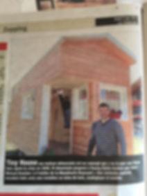 La tribune Menuiserie REYNAUD Tiny House