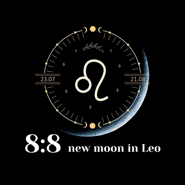 8:8 New Moon in Leo