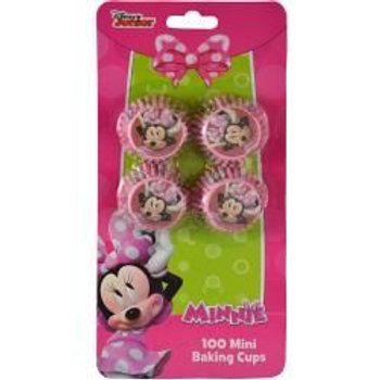 Minnie 100ct Mini Cupcake Liners on Blister Card