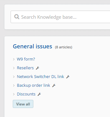 Knowledge-base and web-portal for end-us