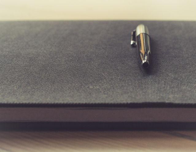 bloco de anotações