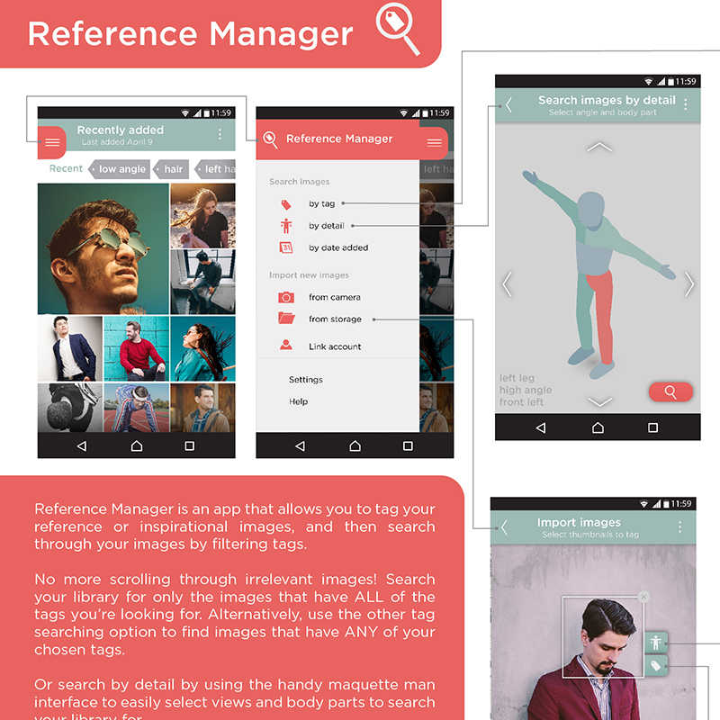 Reference Manager App