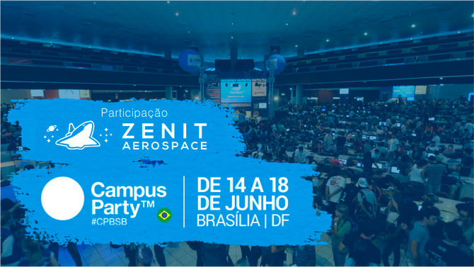 A Zenit Aerospace na Campus Party